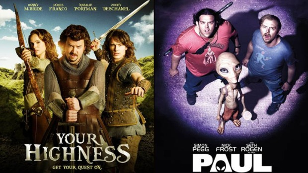 "New on Home Video: ""Your Highness"", ""Paul"" & More"