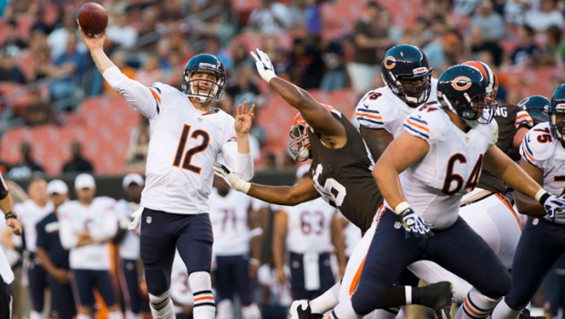 Josh McCown Leads Bears Over Browns