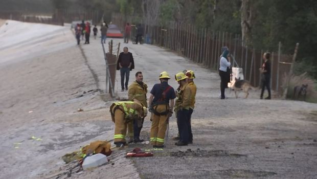 [NATL-la gallery] Photos: Search for Boy Who Fell Into LA Sewer System Ends With 'Happy Hearts'