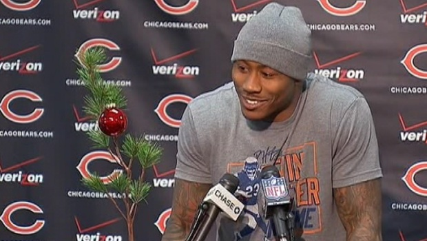 [CHI] Brandon Marshall Unveils Christmas Tree