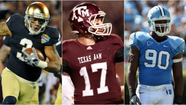 PHOTOS: Chicago Bears Draft Options
