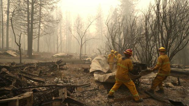 PHOTOS: Wildfire Ravages Butte County, Leaving Dozens Dead