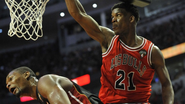 Top Images From Bulls Victory Over Heat