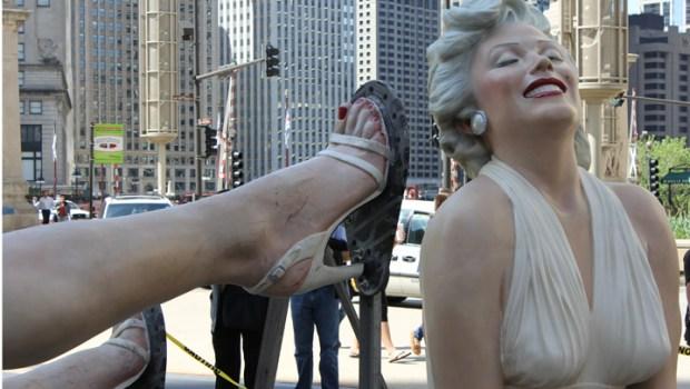 """Forever Marilyn"" Statue Dismantled"