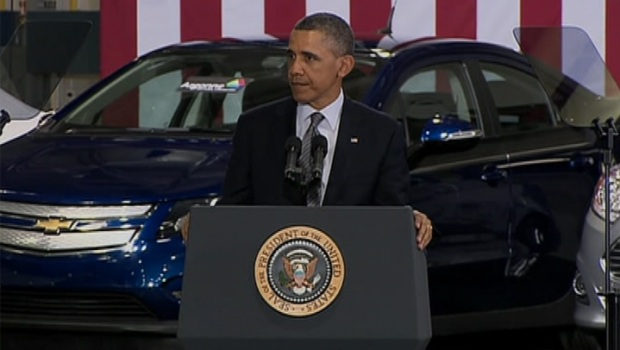 [CHI] Obama Suggests Shifting Cars and Trucks Off Oil