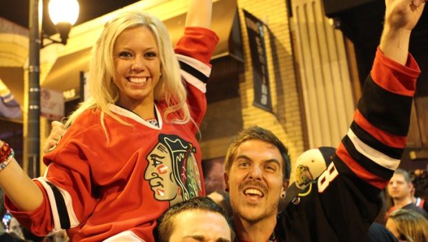 Stanley Cup Revelers Hit The Streets