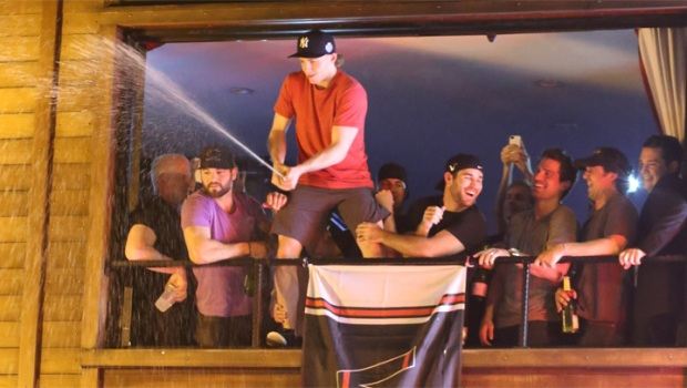 [CHI] Stanley Cup Rides Through Pony Inn