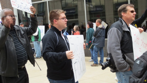 Fired Photographer Picket Sun-Times