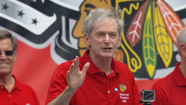 [CHI] Blackhawks Announcer Apologizes to Fans About Limited Space at Rally