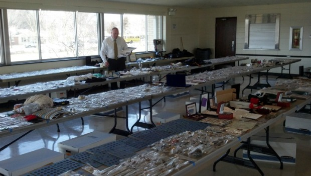 Cops Recover Thousands of Stolen Items