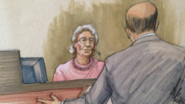 [CHI] Elderly Woman Takes Stand In Trump Tower Trial