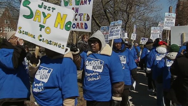 [CHI] Englewood Parents Protest CPS School Closings