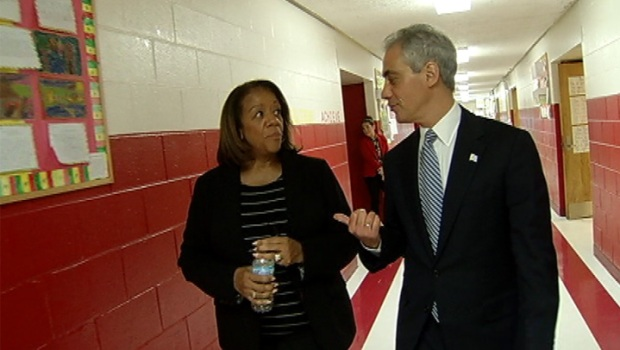 [CHI] Rahm, Byrd-Bennett Discuss CPS Closings