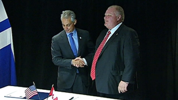 [CHI] Chicago, Toronto Renew Sister Cities Agreement