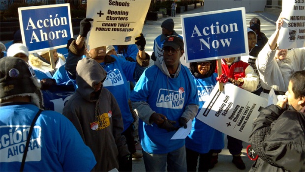 [CHI] Parents, Teachers Protest School Closures