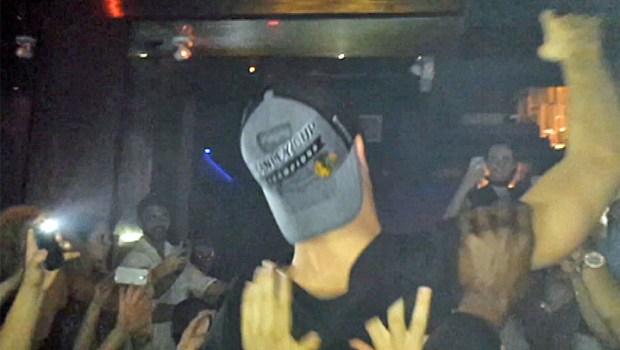 "[CHI] ""Captain Serious"" Body Surfs At Nightclub"