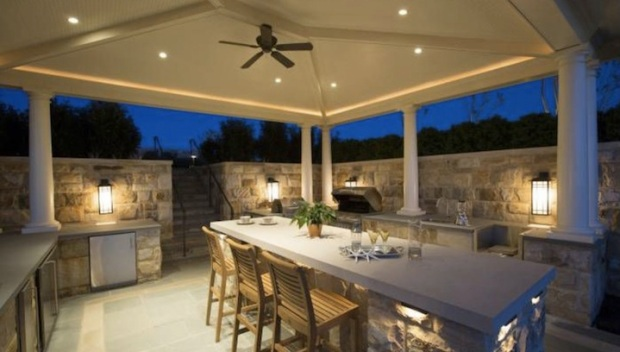 14 Of The Country's Most Beautiful Outdoor Kitchens