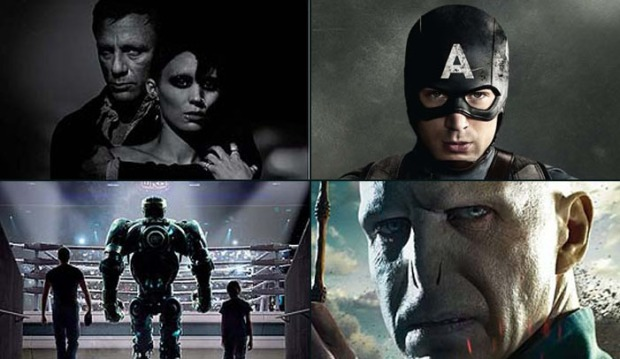 """Posters & Pics: """"Girl With the Dragon Tattoo"""" & """"Captain America"""" Deliver"""