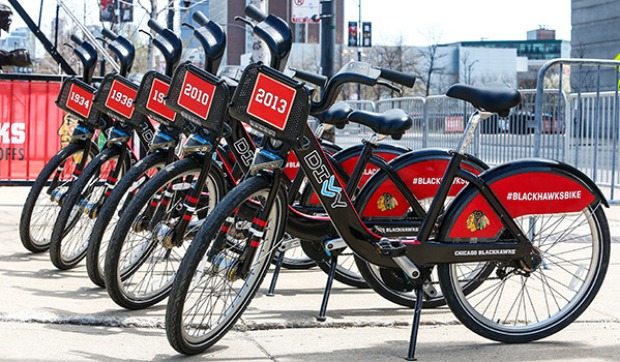 [CHI] Divvy Releases Blackhawks Bikes for Social Media Contest
