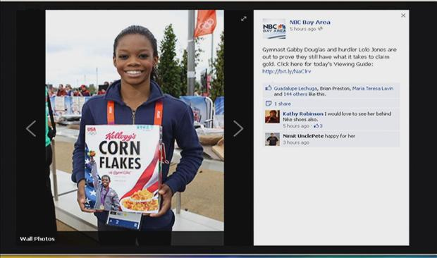 [BAY] Olympics on Facebook