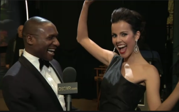 [CHI] Borris Powell Walks Oscars Red Carpet