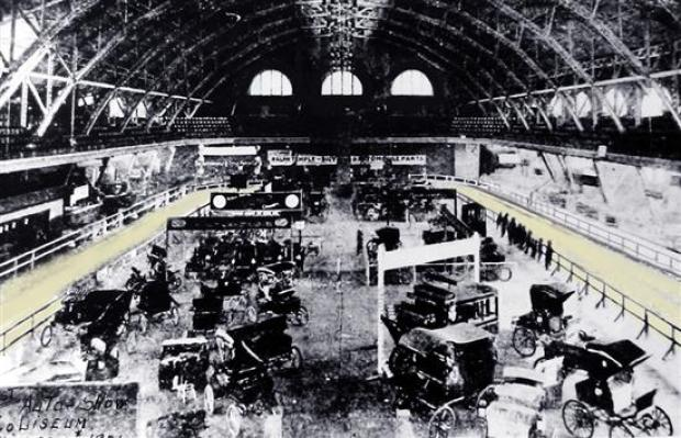 From the Vault: A Look at Auto Shows Past