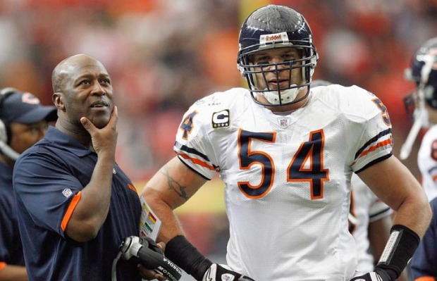 Lovie Smith  Urlacher Could be a