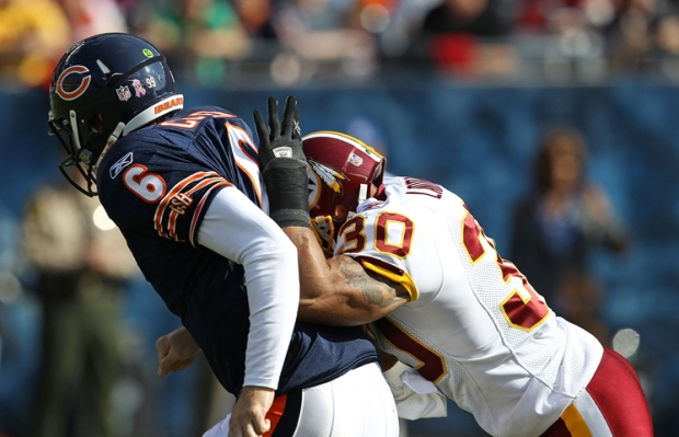 PHOTOS: Bears Battle Redskins