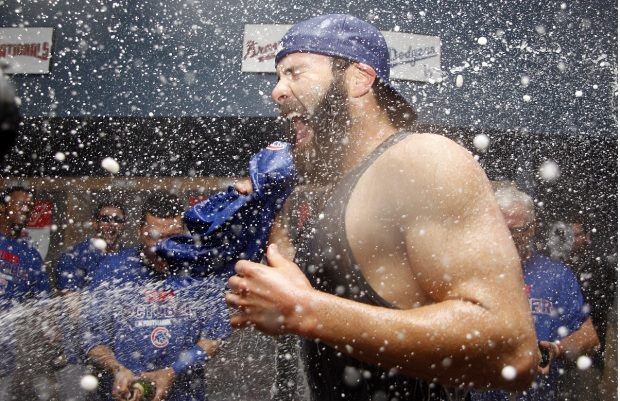 PHOTOS: Cubs Celebrate Wild Card Win Against Pirates