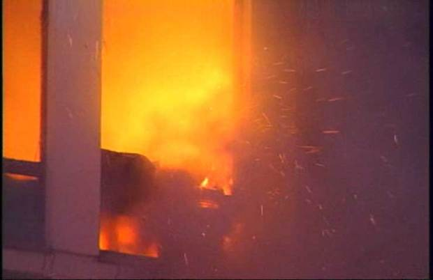 High-Rise Fire Engulfs West Side Apartment