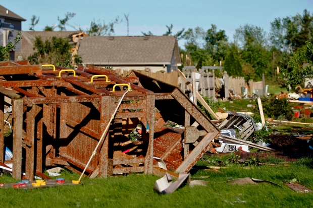 Storms, Tornadoes Hit Northern Illinois