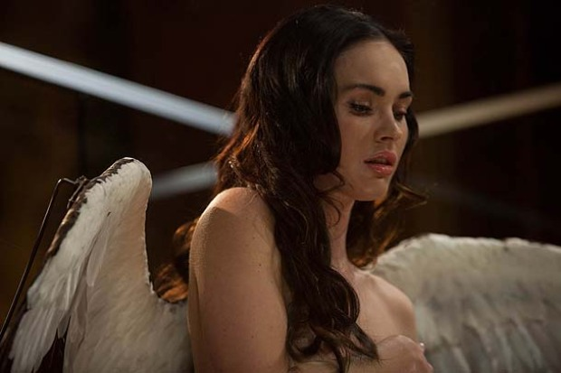 "Scenes From ""Passion Play,"" Starring Mickey Rourke, Bill Murray and Megan Fox"