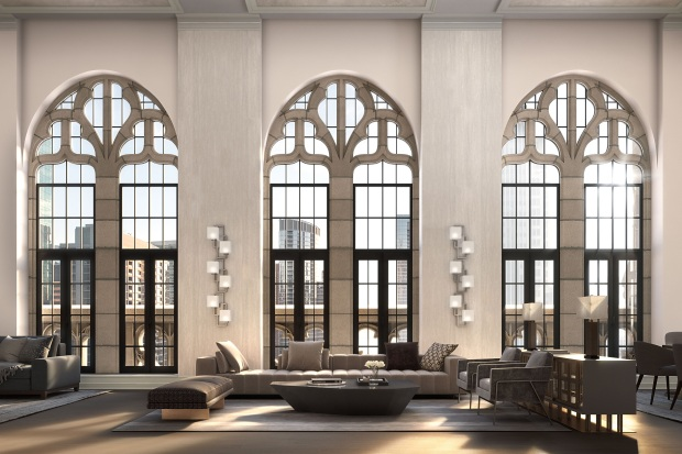 This Is What the Condos Inside Tribune Tower Will Look Like - And How Much They'll Cost