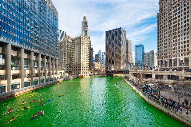 St. Patrick's Day in Chicago 2015
