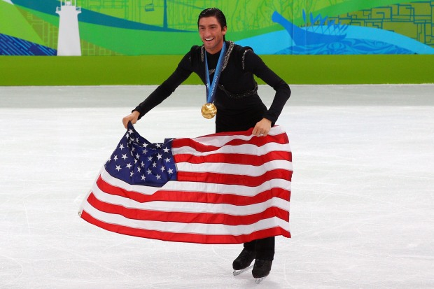PHOTOS: Lysacek's Dramatic Win