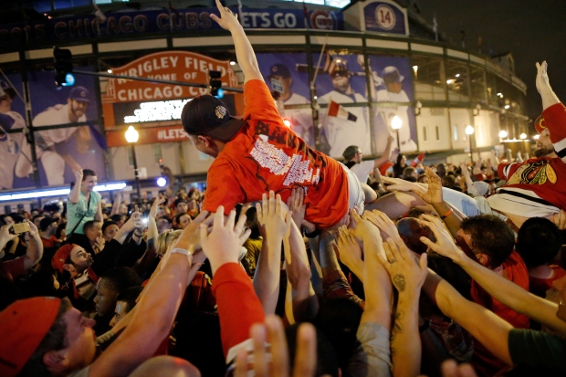PHOTOS: Chicago Celebrates 2015 Stanley Cup Title