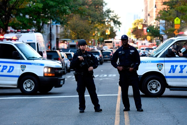 [NATL] In Photos: Aftermath of Deadly Truck Rampage in Manhattan