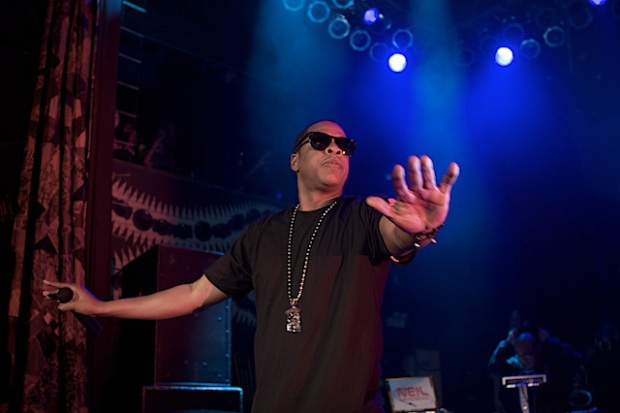 Jay-Z Pimps Big at House of Blues