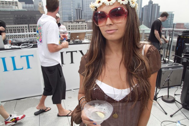 Gilt City's Lollapalooza Pool Party