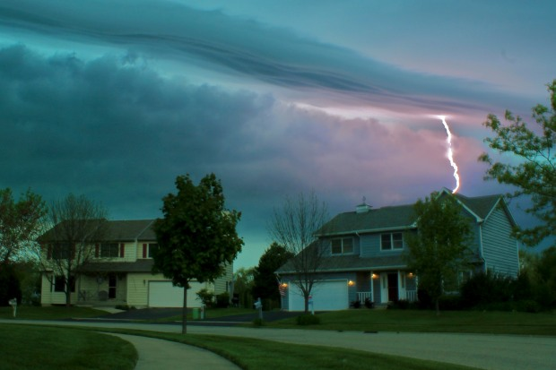 Photos: Storms Roll Throughout Chicagoland