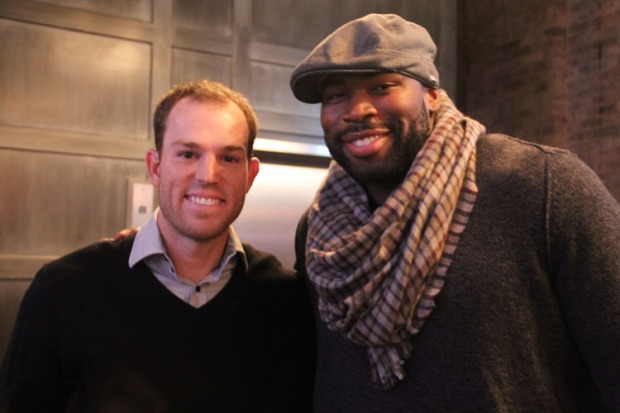 Robbie Gould Hosts MNF Event