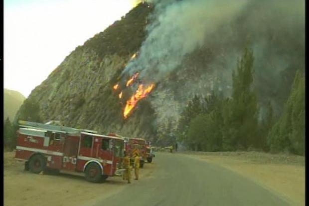 [LA] Stubborn Williams Fire Could Burn for Days