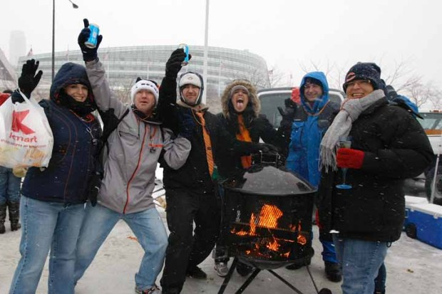 "PHOTOS: Bears, Patriots ""Blizzard Bowl"""