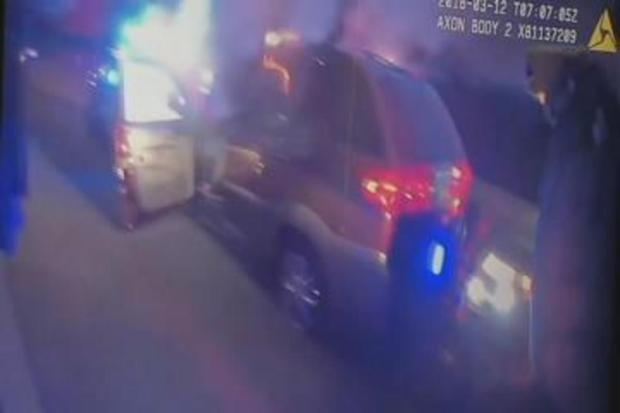 Police Release Footage After Woman's Shooting on I-90 in NW Suburbs