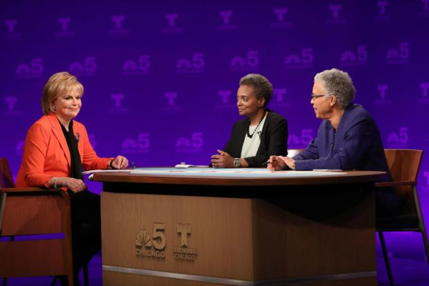 [CHI] Lightfoot, Preckwinkle Debate in First Chicago Mayoral Forum