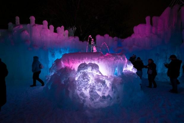 Take a Sneak Peek at Stunning New Ice Castles in Lake Geneva