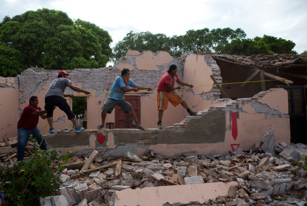 Communities Devastated by Powerful Sept. 8 Mexico Quake