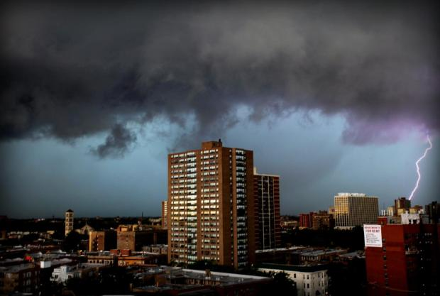 Friday's Storm Photos