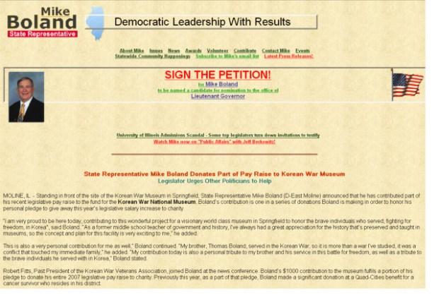 Illinois' Worst Political Web Sites