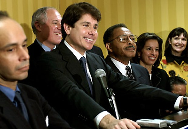 [CHI] Video Vault: Burris, Blagojevich Former Opponents